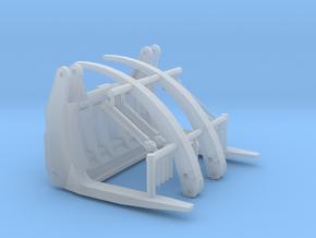 1/87th Log forks for Front End Wheel Loader in Smooth Fine Detail Plastic