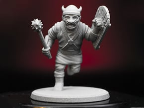 D&D 1st Edition - Goblin in Smooth Fine Detail Plastic