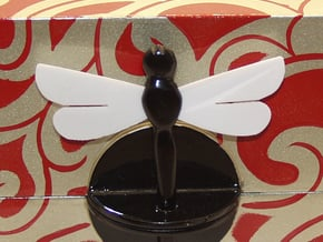 Replacement Wings for a dragonfly jewelry box in White Natural Versatile Plastic