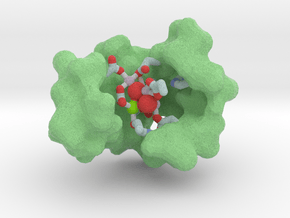 Oxygen-Evolving Center of PSII in Natural Full Color Sandstone