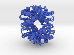 Deoxy-Hemoglobin in Blue Processed Versatile Plastic