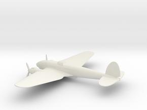 Heinkel He 111 (w/o landing gears) in White Natural Versatile Plastic: 1:160 - N
