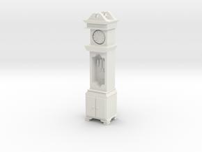 Pendulum Clock 1/24 in White Natural Versatile Plastic