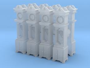 Pendulum Clock (x8) 1/220 in Smooth Fine Detail Plastic