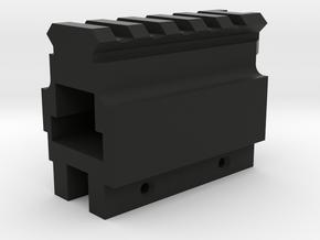 aa12 picatinny rail micro in Black Natural Versatile Plastic