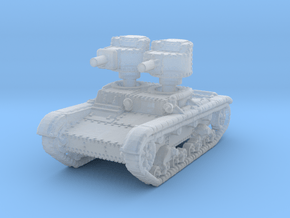 T 26 A 37mm Tank scale 1/285 in Smooth Fine Detail Plastic