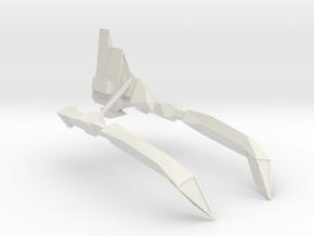 1/2500 23rd Century Combat Vultur Cadens Destroyer in White Natural Versatile Plastic