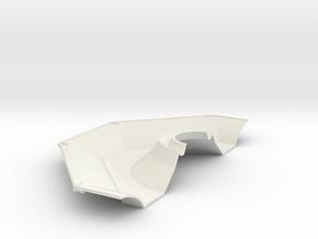 Half descent stage underside in White Natural Versatile Plastic