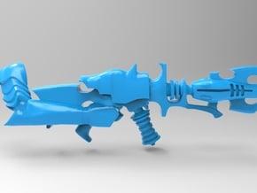 Space Elf - Dark Eldar - Shredder With Arm x10 in Smooth Fine Detail Plastic