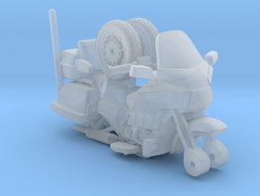 1-64 Scale Motorcycle Cruiser in Smooth Fine Detail Plastic