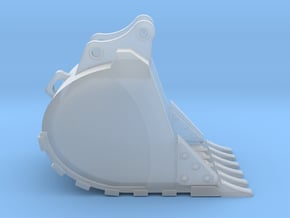 """1:50 48"""" Bucket for Hitachi ZX250 in Smooth Fine Detail Plastic"""