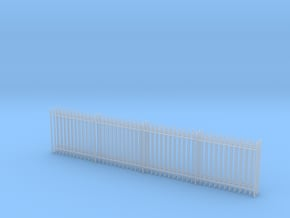 '1-50 Scale' - Security Fence in Smooth Fine Detail Plastic