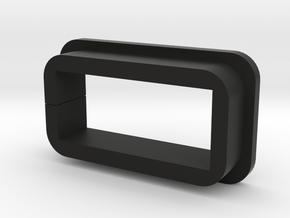 Tesla Model 3 USB extension adapter in Black Natural Versatile Plastic