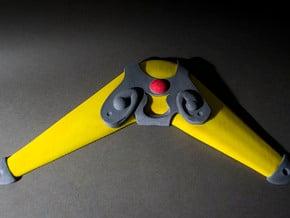 Boomerang Prop in White Natural Versatile Plastic