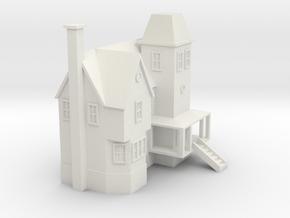 Beetlejuice Maitland House in White Natural Versatile Plastic