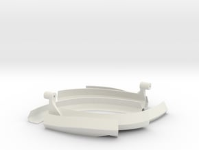 Dronecoria Seed Disperser in White Natural Versatile Plastic