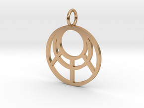 GG3D-018 in Polished Bronze