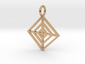 GG3D-022 in Polished Bronze