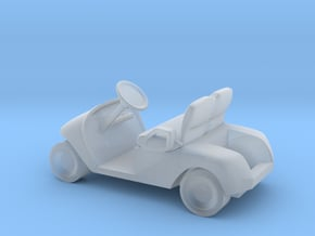 HO Scale Modern Golf Cart in Smooth Fine Detail Plastic