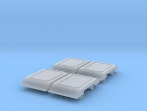4-Wheel Coach Ducket in Smoothest Fine Detail Plastic