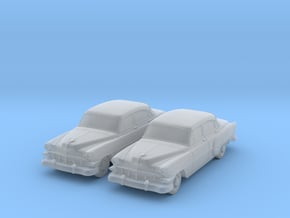 1954 Chevy 4 Door 210 (2) N Scale Vehicles in Smooth Fine Detail Plastic