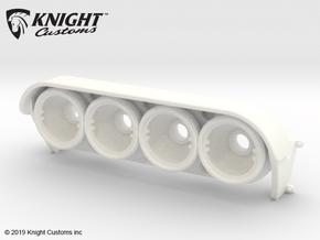 KCLD001 Delta light pod in White Processed Versatile Plastic