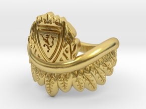 Good Omens: Aziraphale's Ring in Polished Brass: 6 / 51.5