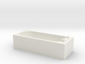 Modern Bath 1/43 in White Natural Versatile Plastic
