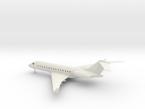Bombardier Global Express XRS in White Natural Versatile Plastic: 1:160 - N
