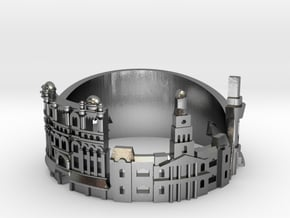 Sydney Skyline - Cityscape Ring in Polished Silver: 7.5 / 55.5