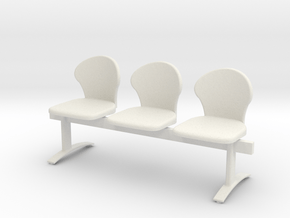 Printle Thing Chair 034 - 1/24 in White Natural Versatile Plastic