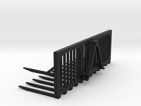 1:32 T301 Silogabel 4m in Black Natural Versatile Plastic: 1:32