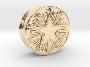 CS:GO - Service Medal Tunnel  in 14K Yellow Gold