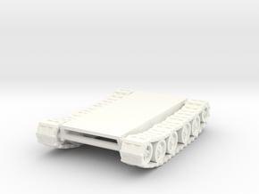15mm tracks for conversion in White Processed Versatile Plastic