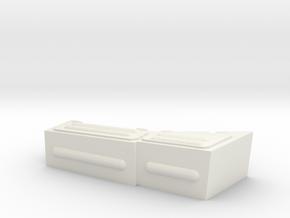 1/16 Finnish T72 Turret Storage Box in White Natural Versatile Plastic