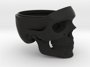 Easy Rider (Skull Only) Ring Box for Engagement in Black Natural Versatile Plastic