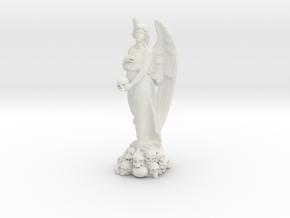 ANGEL Statue in White Natural Versatile Plastic