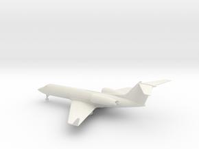 Gulfstream G-IV (G400) in White Natural Versatile Plastic: 1:160 - N