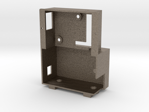 Servo Box in Matte Bronzed-Silver Steel