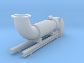 '1-50' Scale - Extraction System in Smooth Fine Detail Plastic