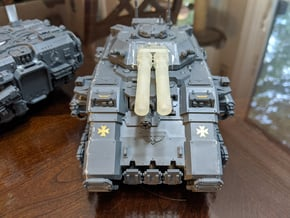 Repulsive Twin Cannon in Smoothest Fine Detail Plastic