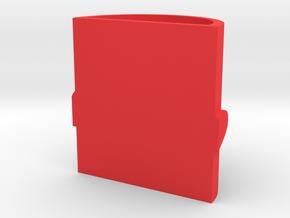 1/2cup  triple love in Red Processed Versatile Plastic: Medium