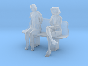 Printle S Couple 197 - 1/87 - wob in Smooth Fine Detail Plastic
