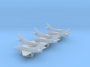 Douglas A-4E Skyhawk in Smooth Fine Detail Plastic: 1:500