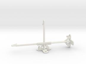 Orange Neva jet 5G tripod & stabilizer mount in White Natural Versatile Plastic