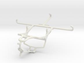 Controller mount for PS4 & Orange Neva jet 5G - Fr in White Natural Versatile Plastic