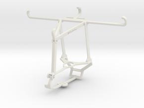 Controller mount for Steam & Orange Neva jet 5G -  in White Natural Versatile Plastic