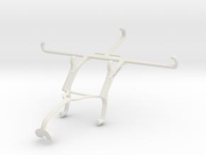 Controller mount for Xbox 360 & Orange Neva jet 5G in White Natural Versatile Plastic