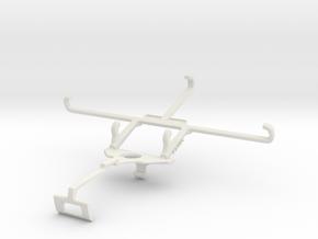 Controller mount for Xbox One S & Orange Neva jet  in White Natural Versatile Plastic