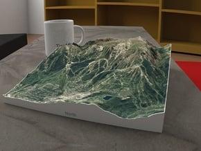 Snowmass, Colorado, USA, 1:25000 in Full Color Sandstone